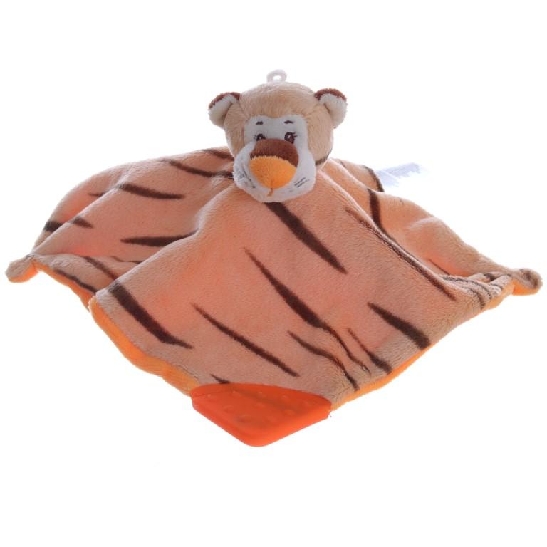 NEU Schmusetuch Schnuffeltuch Löwe Beißecke Ergee kik